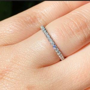 14k natural diamond band Ring